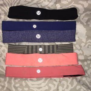 6 Lululemon Headbands